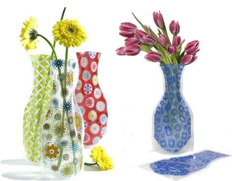 Plastic Bag Vases