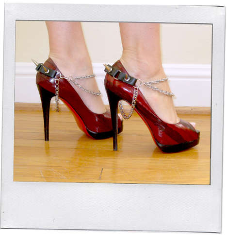 Shoe Jewelry - San Francisco's Litter Label Glams Up Pumps