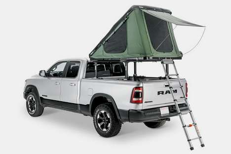 Storage-Friendly Car Rooftop Tents