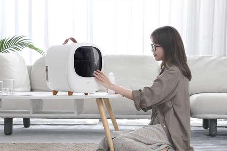 TV-Like Portable Fridges