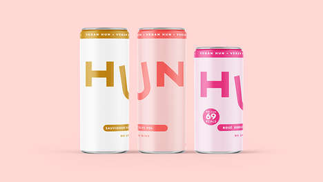 Premium Canned Wines