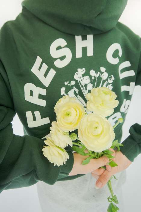 Flower-Inspired Clothing Lines