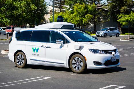 Autonomous Charitable Delivery Vans