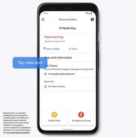 Emergency Information Apps