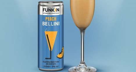 Canned Ready-to-Drink Bellinis