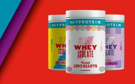 Candy-Flavored Protein Powders