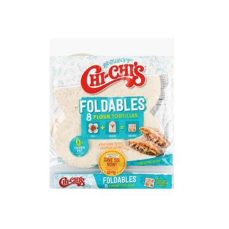 Foldable Flour Tortillas