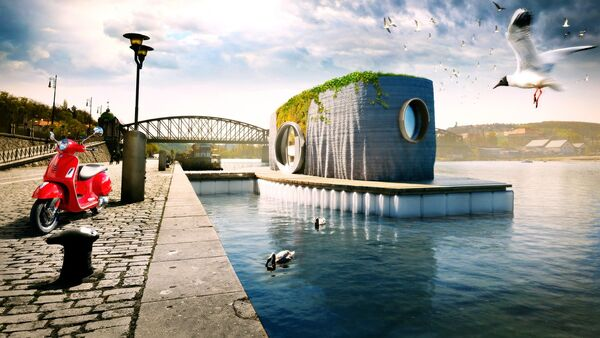 3D-Printed Floating Houses