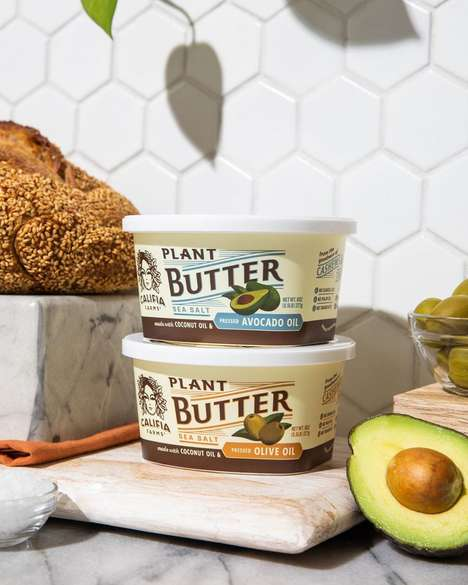 Cultured Plant-Based Spreads