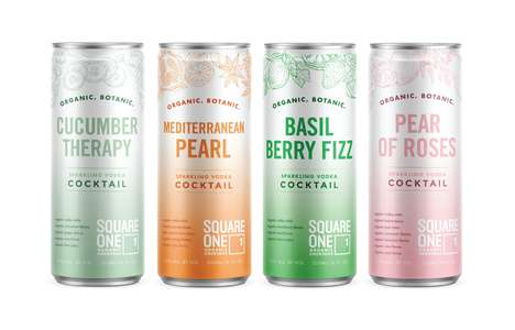 All-Organic Canned Cocktails