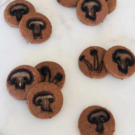 Artisan Mushroom Biscuits