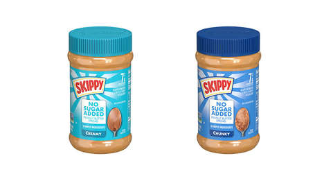No-Sugar-Added Peanut Butters