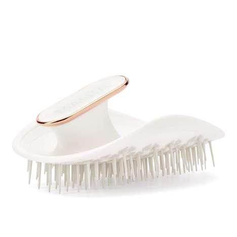 Flexible Anti-Static Hairbrushes