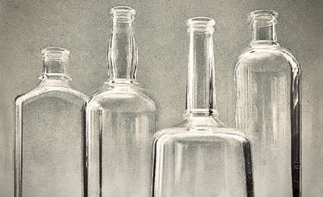 Neo-Vintage Glass Bottles
