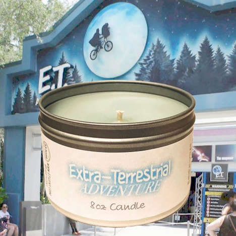 Theme Park Ride Candles