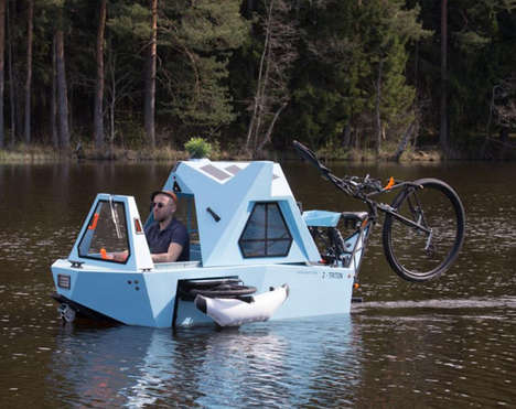 Water-Friendly Tricycle Houses