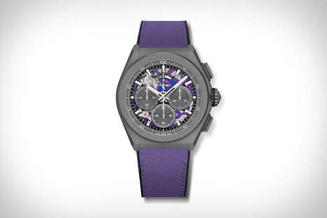 Vibrantly Accented Timepieces