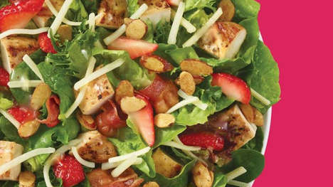 Fresh Berry-Infused Salads