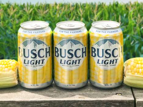 Corn-Themed Beer Cans
