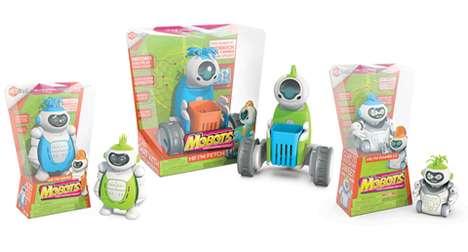 Voice-Recording Robot Toys