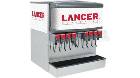 Contact-Free Drink Dispenser Devices