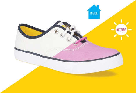 Eco-Friendly Color-Changing Shoes