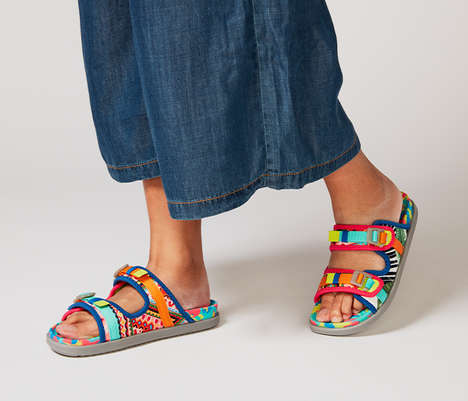 Sustainably Made Mosaic Sandals