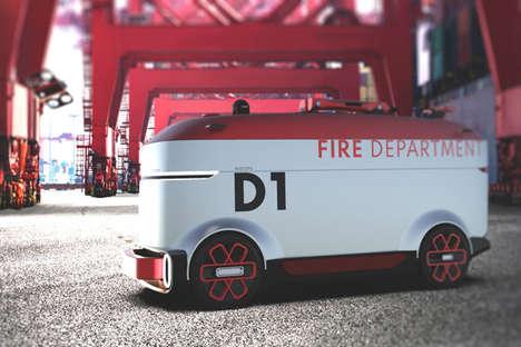 Autonomous Fire-Fighting Robot Vehicles