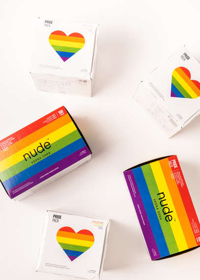 Pride-Celebrating Beverage Branding