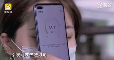 Temperature-Taking Smartphones