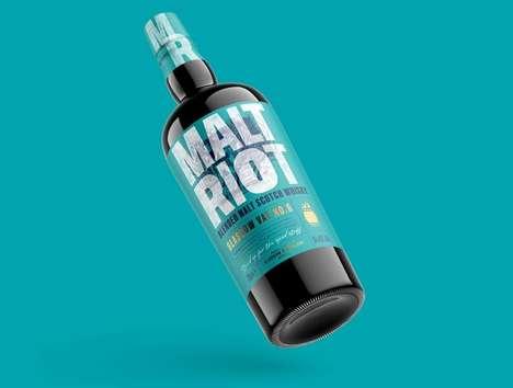 Riot-Inspired Whisky Spirits