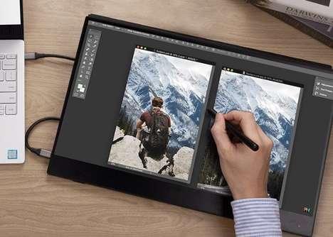 External Display Touchscreens