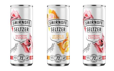 Low-Calorie Summertime Seltzer Drinks