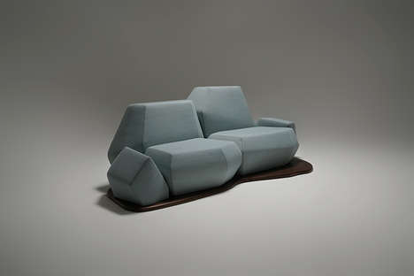 Iceberg-Inspired Sofa Designs
