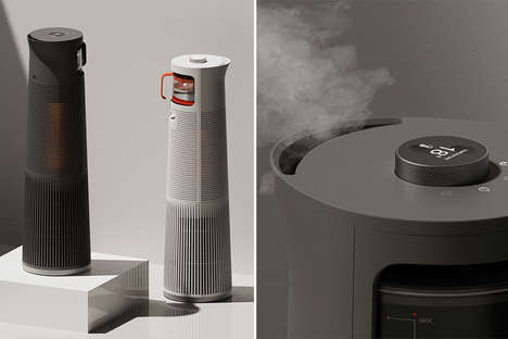 Kettle-Inspired Humidifier Heaters
