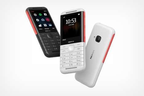 Modernized Music-Focused Cellphones