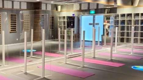 Virus-Safe Fitness Centers