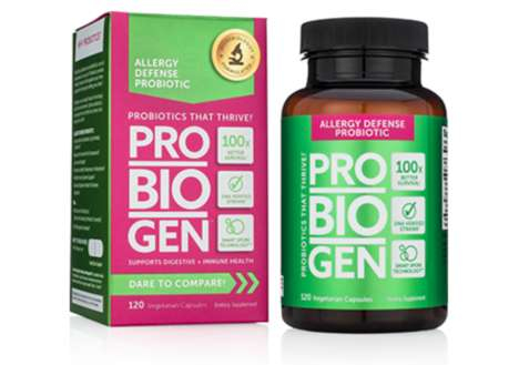 Anti-Allergy Probiotic Supplements
