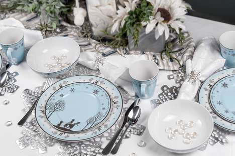 Elegant Disney-Branded Dinnerware