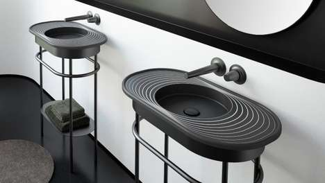 Chic Concentric Circle Sinks