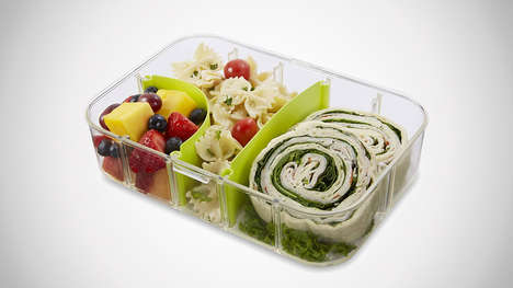 Food-Separating Lunch Boxes