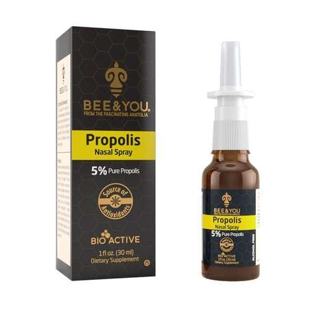 Propolis-Infused Allergy Sprays