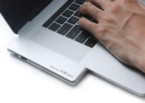 Aftermarket SSD Laptop Hubs