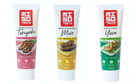 Prepackaged Japanese Cooking Sauces