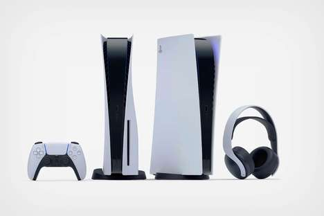 Curvaceous Next-Gen Gaming Consoles