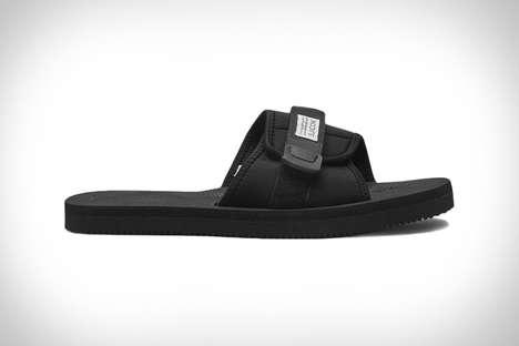 Contoured Utilitarian Sandals