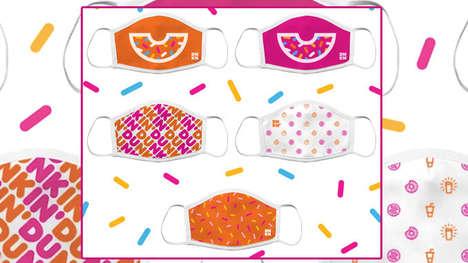 Cheerful Donut-Themed Face Masks