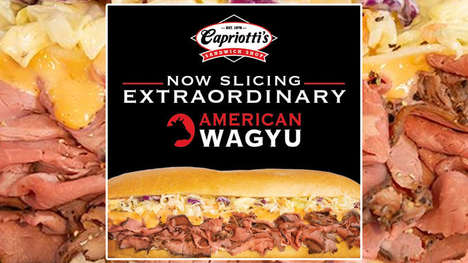 High-Quality Wagyu Beef Sandwiches