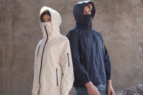 Face-Covering Antimicrobial Jackets