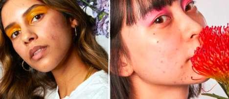 Acne-Positive Skincare Campaigns